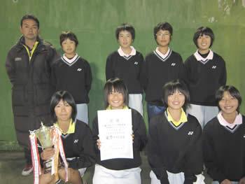24タジマヤ杯女子優勝箕郷