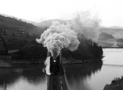 変換 ~ 中央西線1971.11.21落合川4