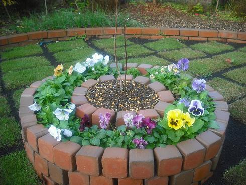 北の花壇1