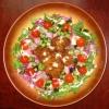 フライと花大根のサラダ