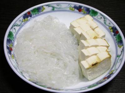 豆腐・しらたき