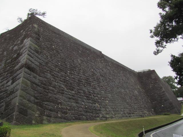 仙台城本丸石垣1