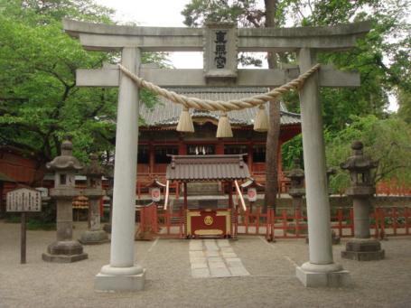 世良田 東照宮 拝殿