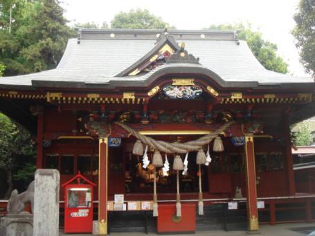 冠稲荷神社 拝殿