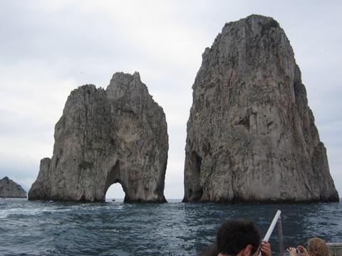 カプリ島奇岩
