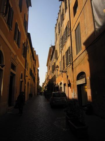 ローマの裏道