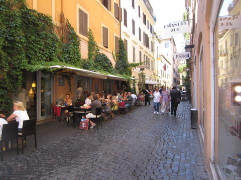 ローマのカフェ
