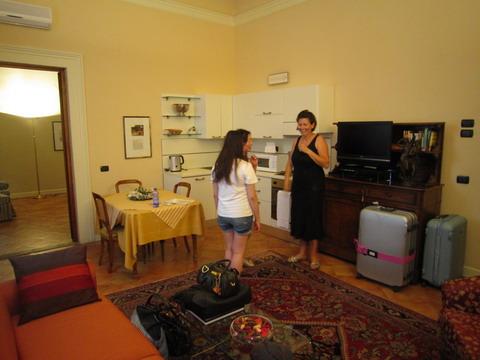 フィレンツェの宿