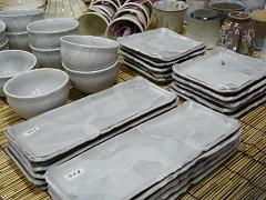 お皿と小鉢お揃いでどうぞ^^