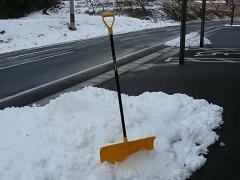 新しい雪かき