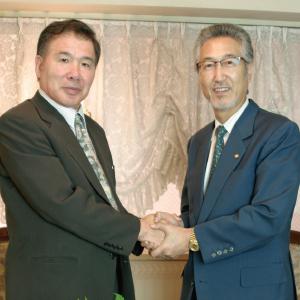 稲葉氏と鳥澤会長