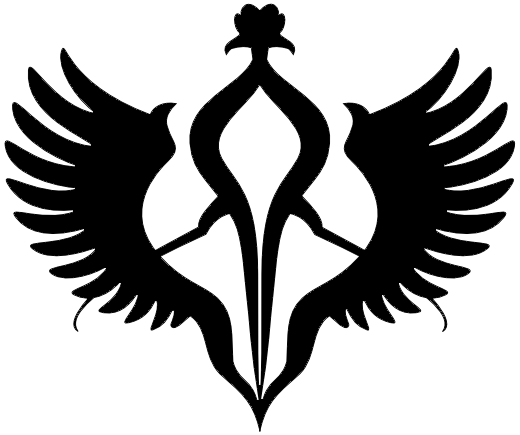 銀河帝国紋章-シルエット