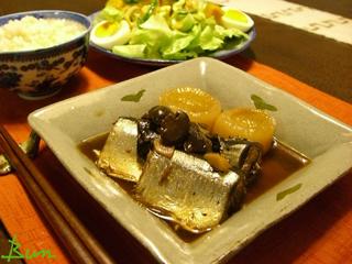 Oct05_サンマと大根煮