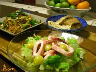 Nov06_いかマリネの温サラダ