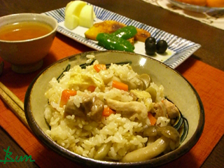 Jan25_鶏の炊込みご飯