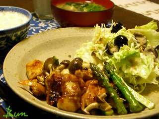 Feb02_鶏と野菜の味噌炒め