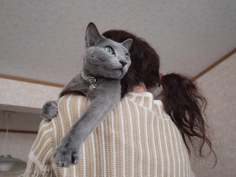 あまあま肩抱っこ(2009.11.29)
