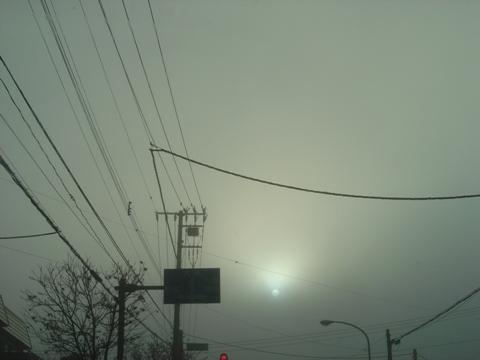 霧の太陽(2009.12.01)