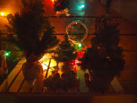 クリスマスのデコ01(2009.12.05)