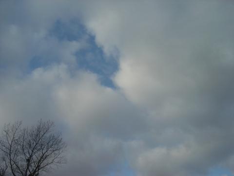 職場地方の雪雲(2009.12.08)