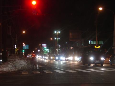 職場地方、夜(2010.01.07)