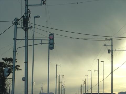 信号、見えません(2010.01.22)