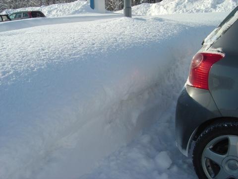 現在の積雪(2010.02.17)