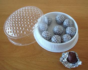 ゴルフボールチョコレート