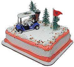 ゴルフカート型ケーキトッパー