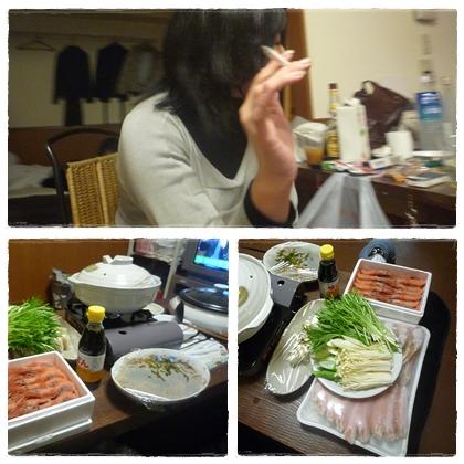 蟹なべパーティ1