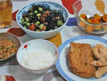 2012_夕ご飯魚の子