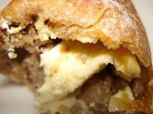 クリームチーズとブラックペッパーのカンパ皮
