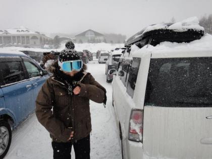 スキー場はやっぱり雪
