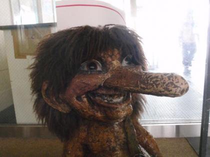 レストラントロル前のトロル人形(1)