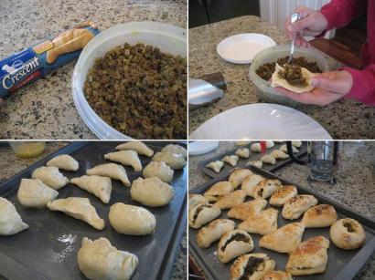 カレー餃子パン