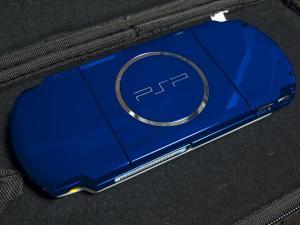 PSP ホワイトブルー02