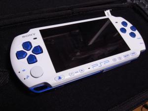 PSP ホワイトブルー01