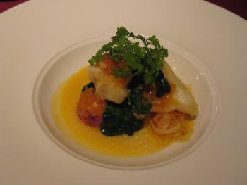 リストランテ美郷 魚