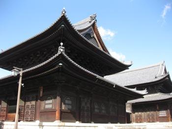 妙心寺仏殿と法堂 2012年2月