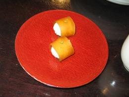 近為 おつけものコース 奈良漬の一口寿司
