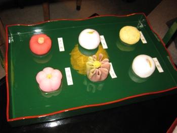 鶴屋吉信 生菓子6つ