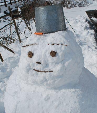 雪だるま20130209