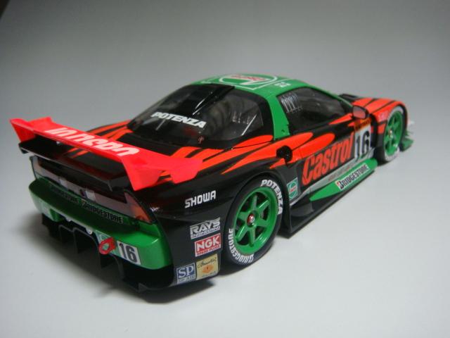 カストロールNSX-GT(リア)