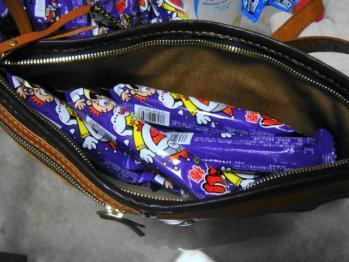 バッグの中にもw
