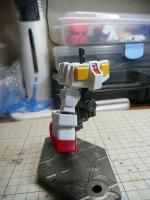 SD RX-78-2 ガンダム 製作中