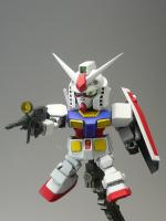 SD RX-78-2 ガンダム 完成!