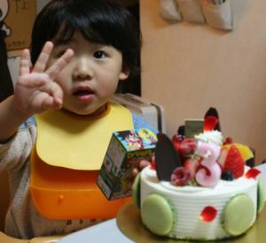 3歳だよ~ 20100301