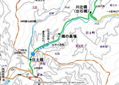 橋の墓場地図