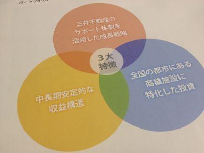 フロンティア投資法人の3大特徴