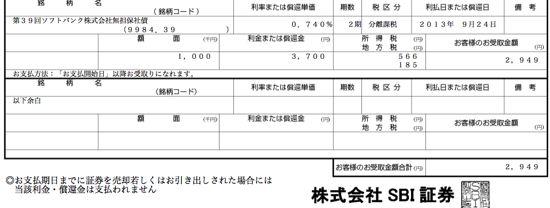 9984 ソフトバンク 社債